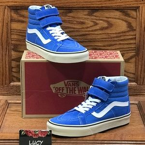 Vans Sk8 Hi Reissue Victoria Blue Turtledove Shoes